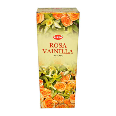 Gül Vanilya Kokulu 20 Çubuk Tütsü - Rose Vanilla