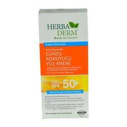 HerbaDerm - Güneş Bakım Kremi 50 Faktör SPF 75ML Görseli
