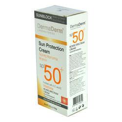 DermaDerm - Güneş Koruma Kremi Spf 50+ Faktör Parabensiz UVA/UVB Yüksek Koruma 100 Gr (1)