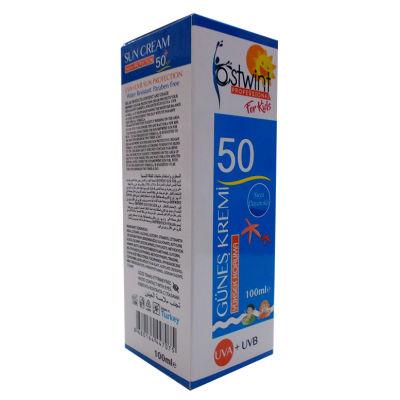 Güneş Kremi 50 Faktör 100ML - Çocuklara