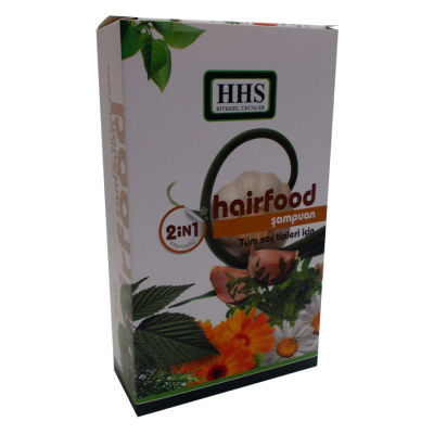 Hairfood 2 in 1 Mentollü Şampuan 350ML