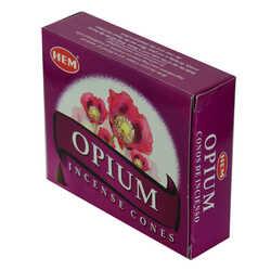 Haşhaş Kokulu 10 Konik Tütsü - Opium - Thumbnail