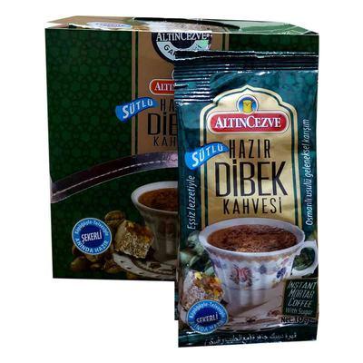 Hazır Dibek Kahvesi Sütlü Şekerli 10 Gr X 20 Pkt