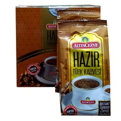 Altıncezve - Hazır Türk Kahvesi Orta Şekerli 9 Gr X 20 Pkt (1)