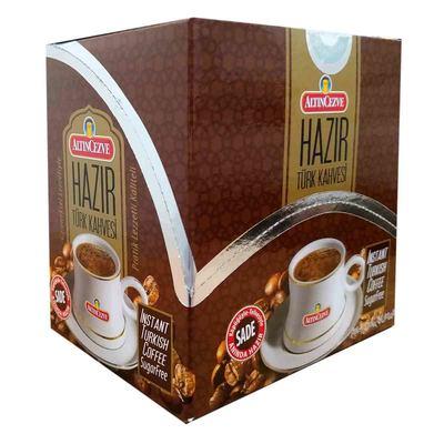 Hazır Türk Kahvesi Sade 7 Gr X 20 Pkt