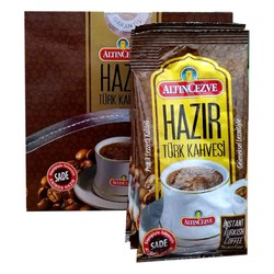 Altıncezve - Hazır Türk Kahvesi Sade 7 Gr X 20 Pkt Görseli