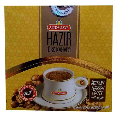 Hazır Türk Kahvesi Şekerli 11 Gr X 20 Pkt