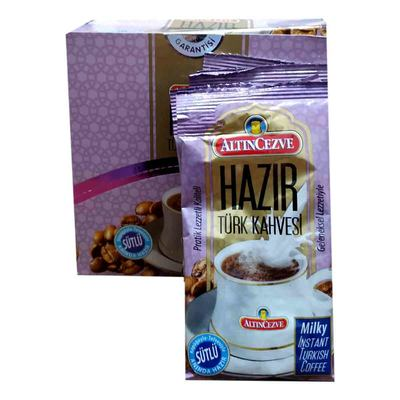 Hazır Türk Kahvesi Sütlü 11 Gr X 20 Pkt