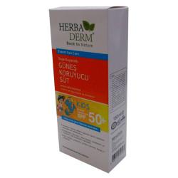 HerbaDerm - Güneş Sütü Çocuklar 50 Faktör SPF 150 ML Görseli