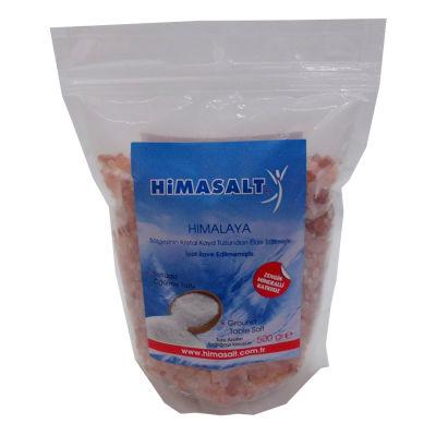 Himalaya Kristal Çakıl Tuz Pembe 500 Gr