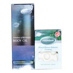 İnceltici Sıkılaştırıcı Vücut Bakım Seti - Bakım Sabunu & Bakım Yağı - Thumbnail