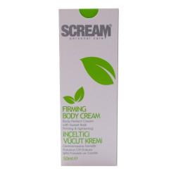 Scream - İnceltici Sıkılaştırıcı Vücut Kremi 50ML Görseli