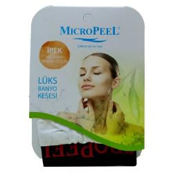 Micro Peel - İpek Hassas Cilt İçin Yüz Kesesi Beyaz 8X10 Görseli
