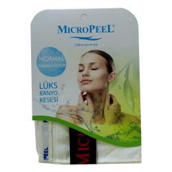 Micro Peel - İpek Karma Cilt İçin Banyo Kesesi Beyaz 16X25 Görseli