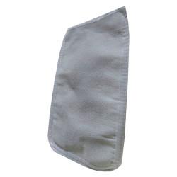 Micro Peel - İpek Sırt ve Vücut Kesesi Beyaz 17X27 Görseli