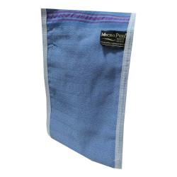 Micro Peel - İpek Sırt ve Vücut Kesesi Mavi 17X25 Görseli