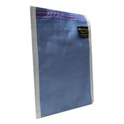 İpek Sırt ve Vücut Kesesi Mavi 17X25 - Thumbnail