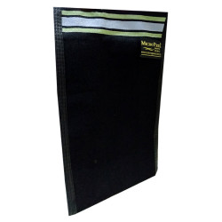 İpek Sırt ve Vücut Kesesi Siyah 17X27 - Thumbnail