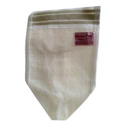 Micro Peel - İpek Sırt ve Vücut Tellak Kese Beyaz 16X27 Görseli