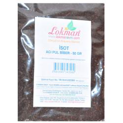 LokmanAVM - İsot Acı Pul Biber 50 Gr Paket (1)