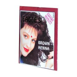 Eagles - Kahverengi Hint Kınası (Brown Henna) 10 Gr Paket Görseli