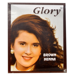 Glory - Kahverengi Hint Kınası 10 Gr Paket (1)