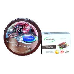 Kakao Yağlı Vücut Bakım Seti - Krem & Peeling Sabunu - Thumbnail