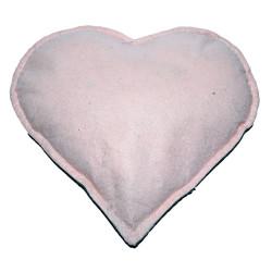 Kalp Desenli Doğal Kaya Tuzu Yastığı Yeşil - Pudra 2-3 Kg - Thumbnail