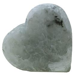 Kalp Şekilli Çankırı Doğal Kaya Tuzu Sabunu Beyaz 350-450 Gr - Thumbnail