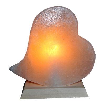 Kalp Şekilli Doğal Kaya Tuzu Lambası Çankırı Kablolu Ampullü Beyaz 1-2 Kg