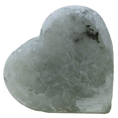 Kalp Şekilli Doğal Kaya Tuzu Sabunu Çankırı 350-450 Gr