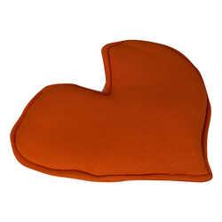Kalp Şekilli Doğal Kaya Tuzu Yastığı Turuncu 1-2 Kg - Thumbnail