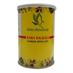 Kara Halileli Karışık Bitkisel Çay 100Gr Teneke Kutu - Thumbnail