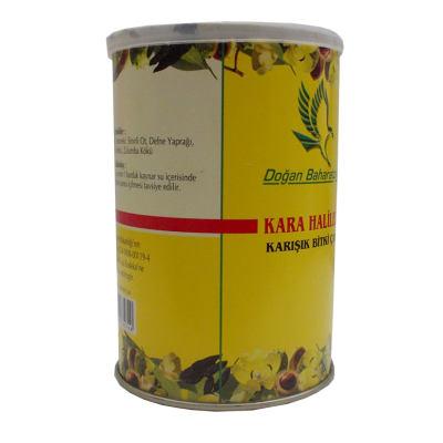 Kara Halileli Karışık Bitkisel Çay 100Gr Teneke Kutu