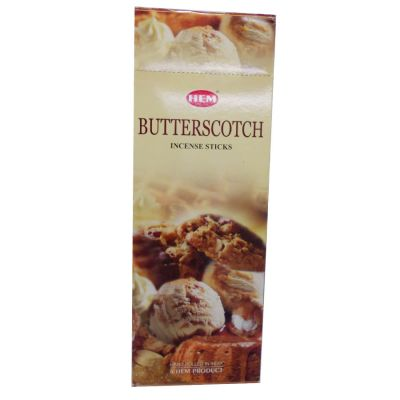 Karamela Kokulu 20 Çubuk Tütsü - Butterscotch