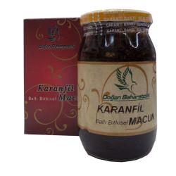 Karanfilli Ballı Bitkisel Karışım Cam Kavanoz 450 Gr - Thumbnail