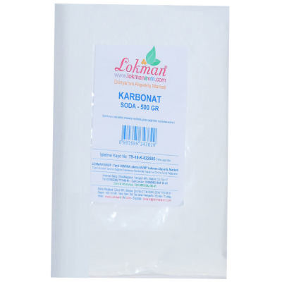 Karbonat Soda 500 Gr Paket