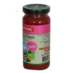 Ganik - Keçi Sütü Reçeli Çilekli Glutensiz Cam Kavanoz 270 Gr Görseli