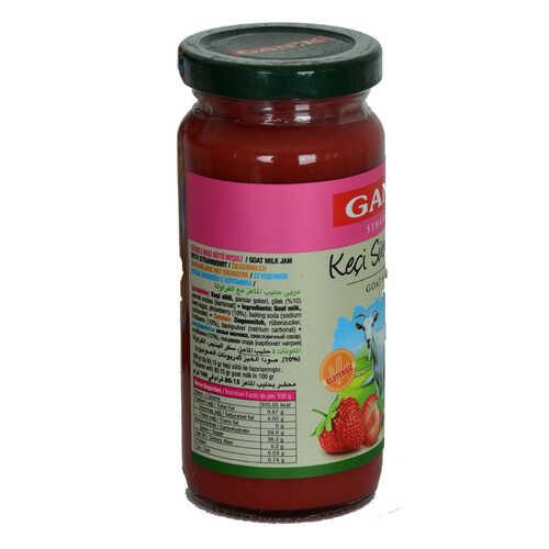 Keçi Sütü Reçeli Çilekli Glutensiz Cam Kavanoz 270 Gr