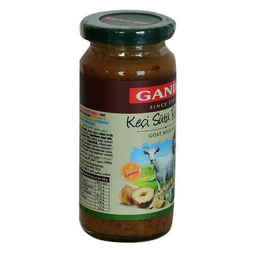 Keçi Sütü Reçeli Fındık Parçalı Glutensiz Cam Kavanoz 270 Gr