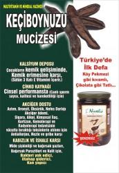 Keçiboynuzu Harnup Özü Cam Kavanoz 800 Gr - Thumbnail