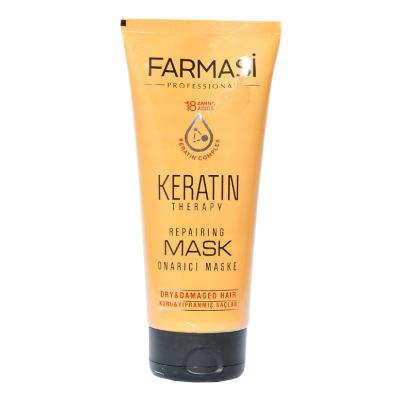 Keratin Terapi Onarıcı Saç Bakım Maskesi 200 ML