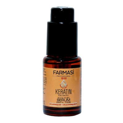 Keratin Terapi Onarıcı Saç Bakım Serumu 30 ML