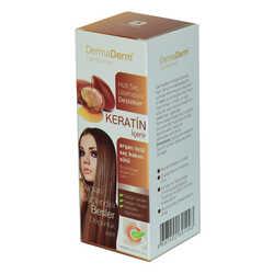Keratinli Argan Özlü Saç Bakım Sütü Hızlı Saç Uzamasına Etkili 250 ML - Thumbnail