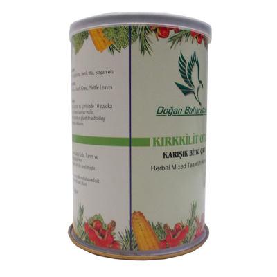 Kırkkilitotlu Karışık Bitkisel Çay 100 Gr Teneke Kutu