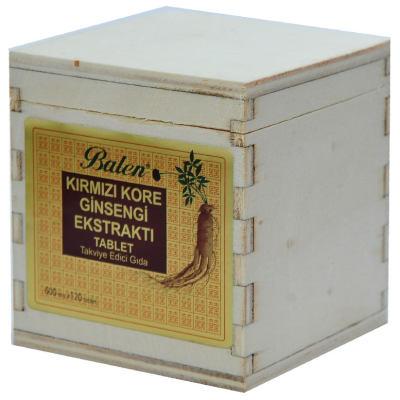 Kırmızı Kore Ginsengi Ekstraktı 120 Tablet