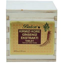 Balen - Kırmızı Kore Ginsengi Ekstraktı 120 Tablet (1)