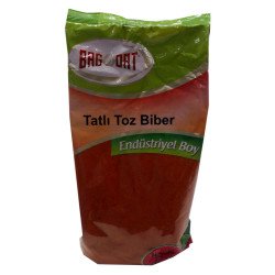 Kırmızı Toz Biber Tatlı Renk Biberi 1000 Gr Paket - Thumbnail