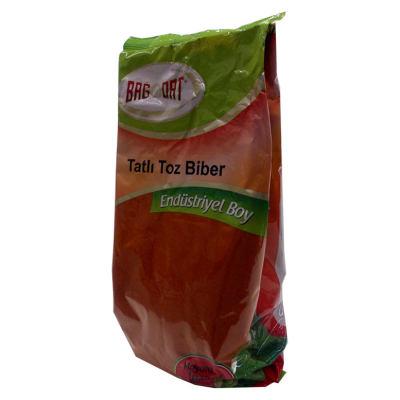 Kırmızı Toz Biber Tatlı Renk Biberi 1000 Gr Paket