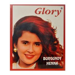 Glory - Kızıl Hint Kınası (Burgundy Henna) 10 Gr Paket Görseli